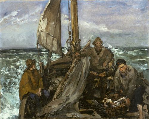Art Prints of The Toilers of the Sea by Edouard Manet