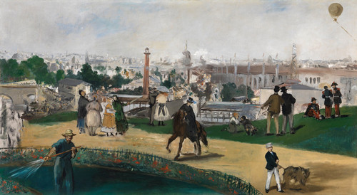 Art Prints of The World Exhibition by Edouard Manet