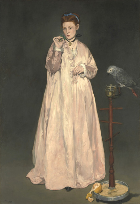 Art Prints of Young Lady in 1866 by Edouard Manet