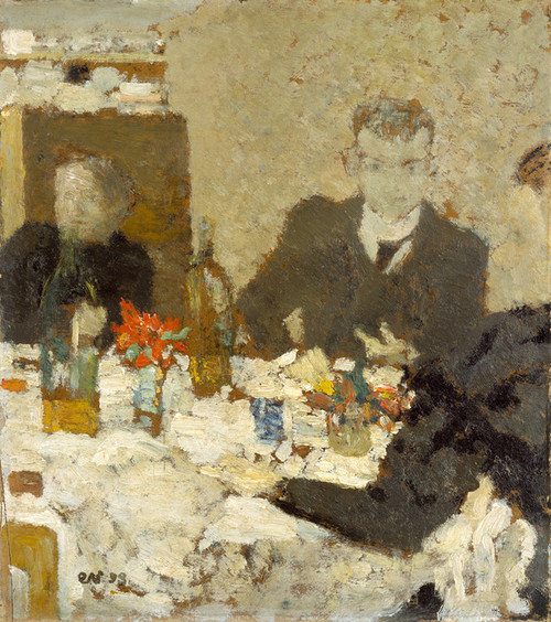 Art Prints of At Table by Edouard Vuillard