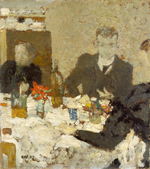 Art Prints of At Table by Edouard Vuillard