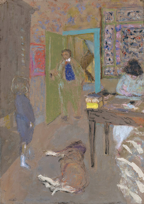 Art Prints of Interior at Saint Jacut by Edouard Vuillard