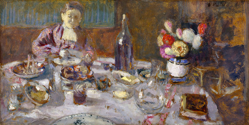 Art Prints of Luncheon by Edouard Vuillard