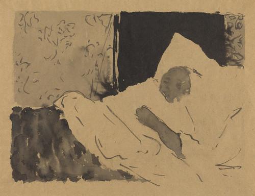 Art Prints of Madame V Sleeping by Edouard Vuillard