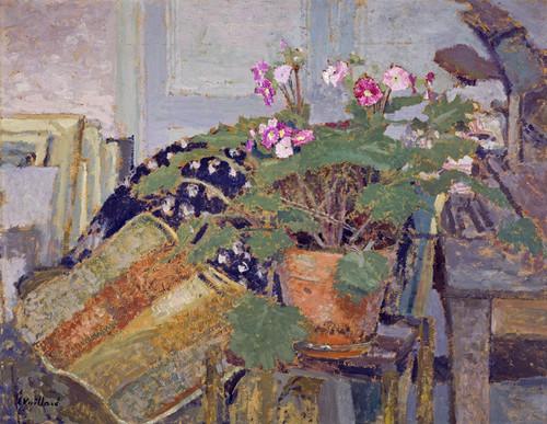 Art Prints of Pot of Flowers by Edouard Vuillard