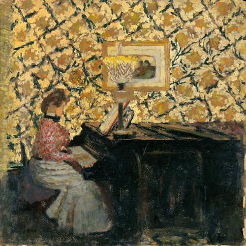 Art Prints of Misia at the Piano by Edouard Vuillard