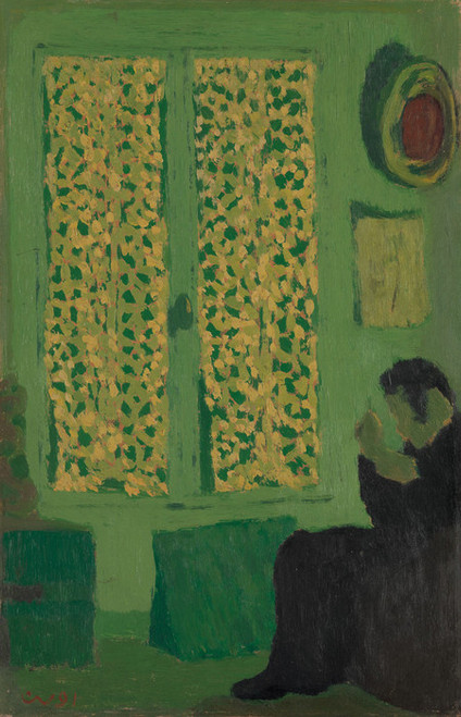 Art Prints of The Green Interior by Edouard Vuillard