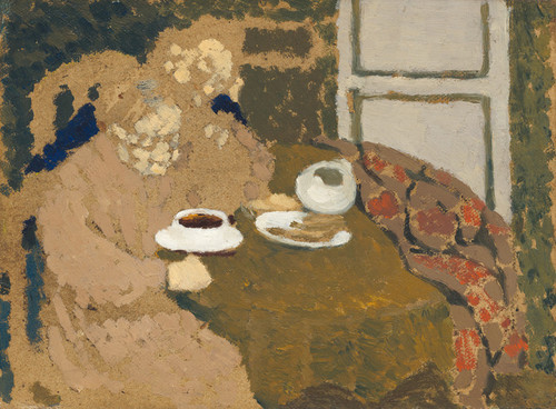 Art Prints of Two Women Drinking Coffee by Edouard Vuillard