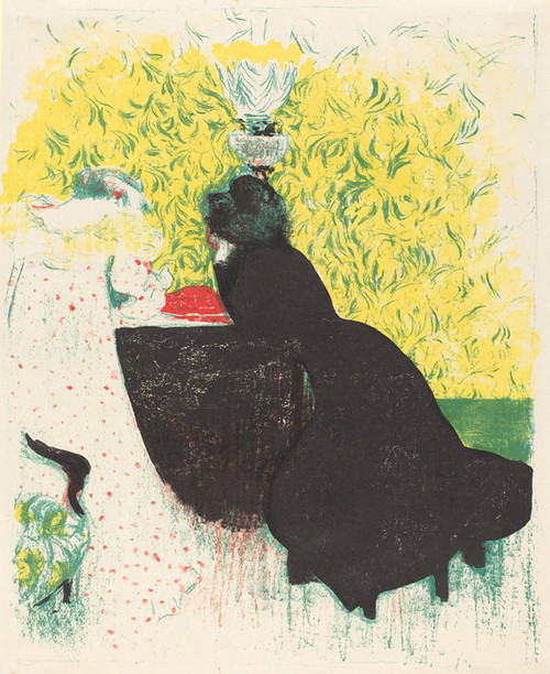Art Prints of Two Sisters-in-Law by Edouard Vuillard