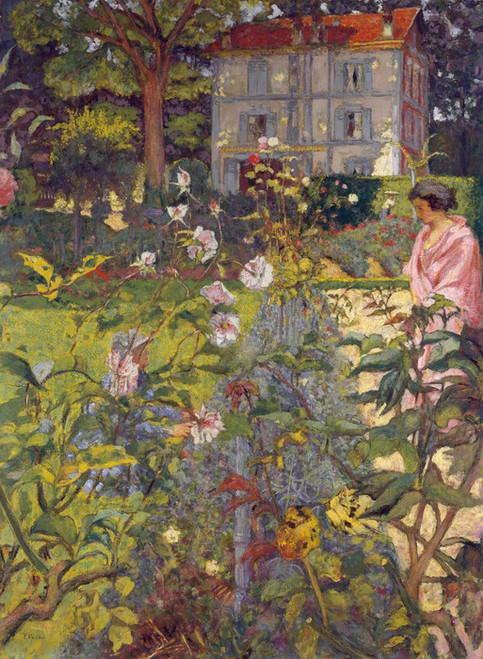 Art Prints of Garden in Vaucresson France by Edouard Vuillard