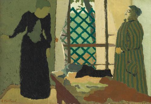 Art Prints of Madame Vuillard in the Sewing Room by Edouard Vuillard