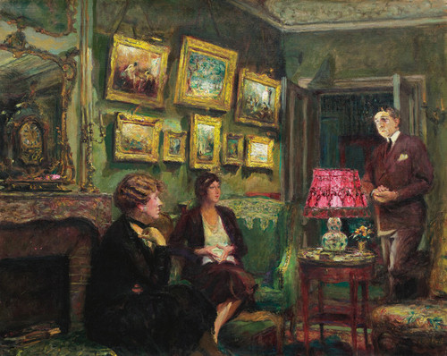 Art Prints of Madame Gillou at Her Place by Edouard Vuillard