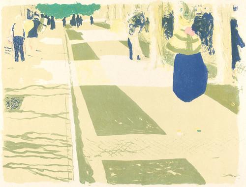 Art Prints of The Avenue by Edouard Vuillard