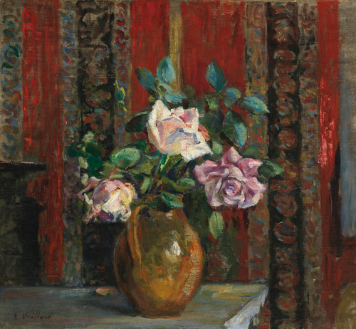 Art Prints of Roses in a Pitcher by Edouard Vuillard