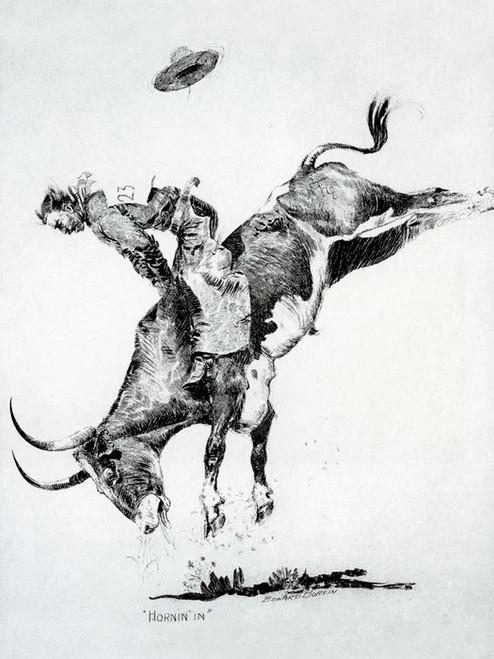 Art Prints of Hornin' In by Edward Borein