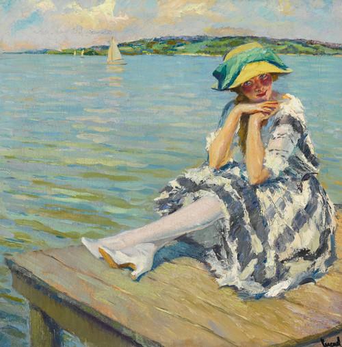 Art Prints of Her Favorite Spot by Edward Cucuel