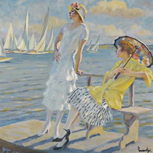 Art Prints of Summer Regatta by Edward Cucuel
