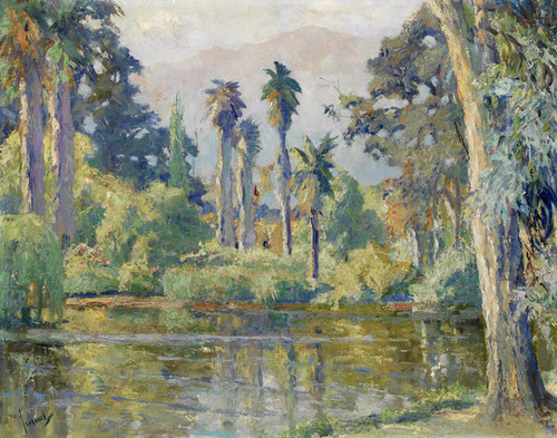 Art Prints of Rancho Santa Anita by Edward Cucuel