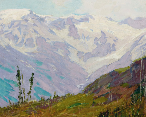 Art Prints of Canadian Rockies by Edward Henry Potthast