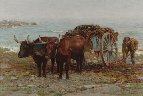 Art Prints of Gathering Seaweed by Edward Henry Potthast