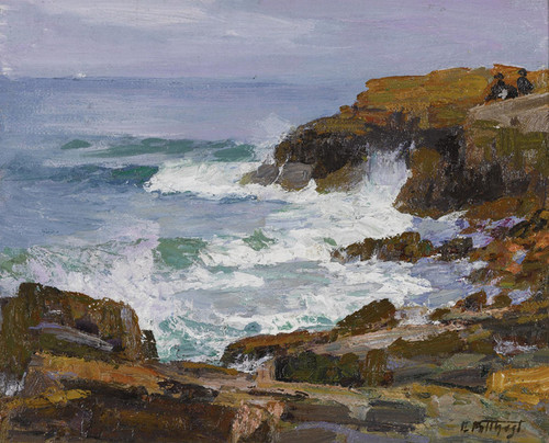 Art Prints of Looking out to Sea by Edward Henry Potthast