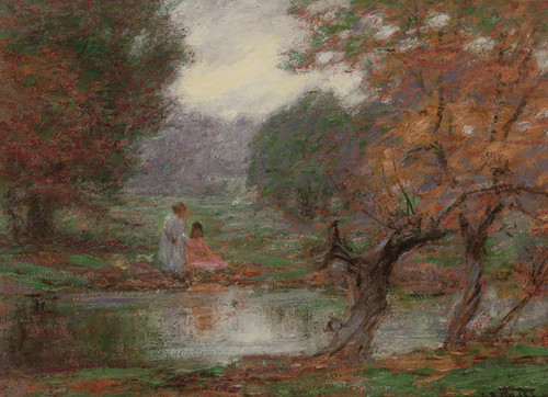 Art Prints of October Afternoon by Edward Henry Potthast