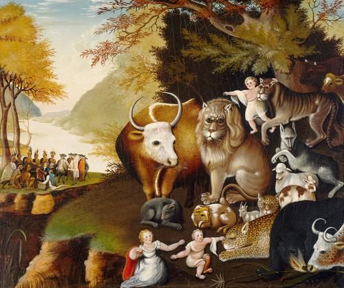Art Prints of Peaceable Kingdom, 1834 by Edward Hicks