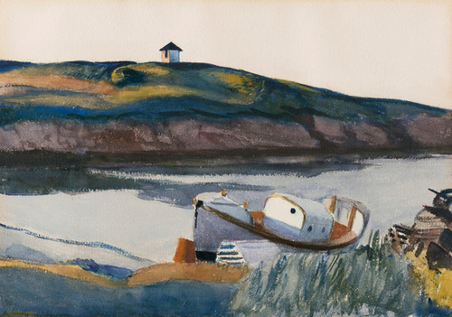 Art Prints of Coast Guard Cove by Edward Hopper