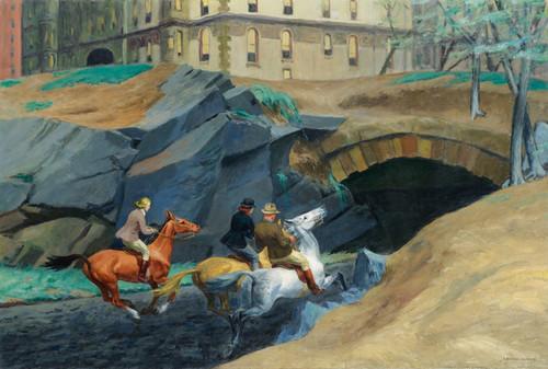 Art Prints of Bridle Path by Edward Hopper