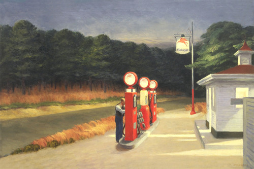 Gas by Edward Hopper | Fine Art Print