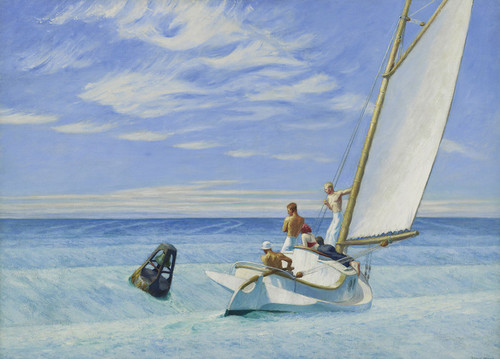 Art Prints of Ground Swell by Edward Hopper