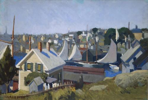 Art Prints of Gloucester Harbour by Edward Hopper
