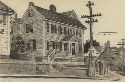 Art Prints of Houses at Gloucester by Edward Hopper