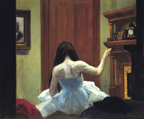 Art Prints of New York Interior by Edward Hopper