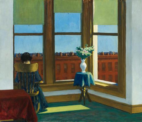 Art Prints of Room in Brooklyn by Edward Hopper