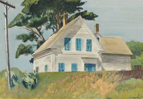 Art Prints of Railroad Embankment by Edward Hopper