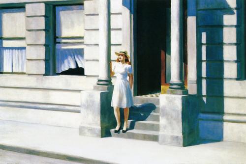 Art Prints of Summertime by Edward Hopper