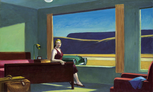 Art Prints of Western Hotel by Edward Hopper
