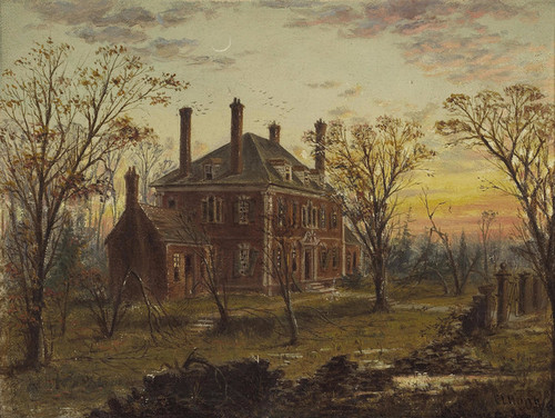 Art Prints of The Ruins of Old on the James River, 1866 by Edward Lamson Henry