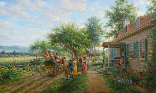 Art Prints of The News of the War, 1812 by Edward Lamson Henry