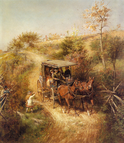 Art Prints of The Morning Mail by Edward Lamson Henry