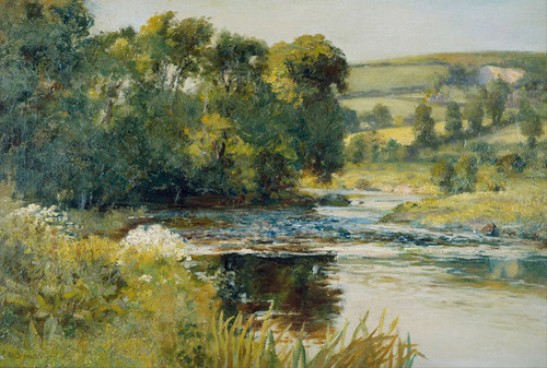 Art Prints of Streamside by Edward Mitchell Bannister