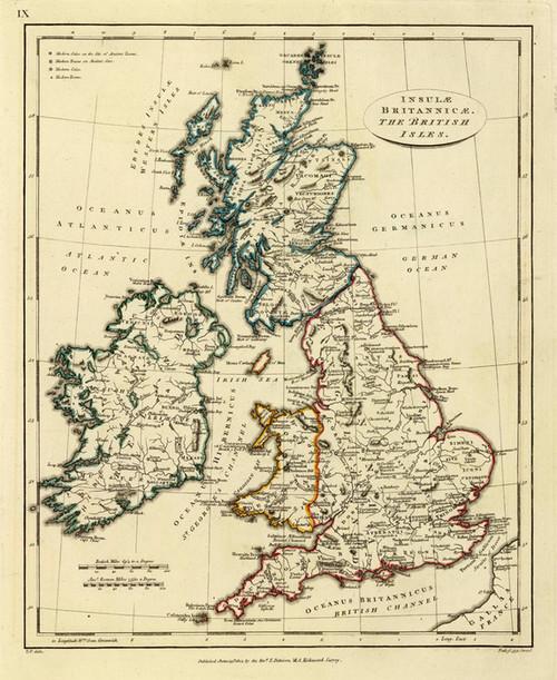 Art Prints of British Isles, 1804 (2319018) by Edward Patteson