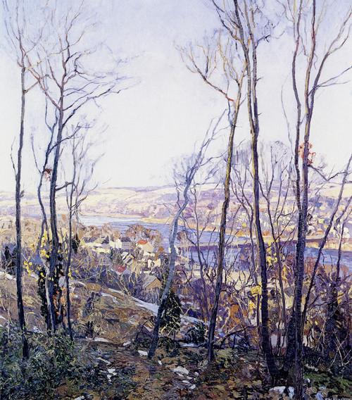 Art Prints of A Pennsylvania Landscape by Edward Redfield