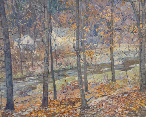 Art Prints of Frosty Morning by Edward Redfield