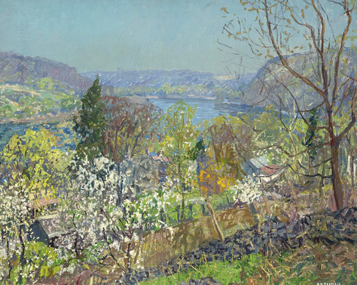 Art Prints of The Delaware Valley by Edward Redfield