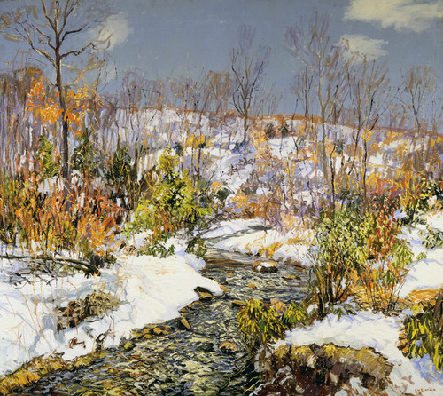 Art Prints of Trout Brook by Edward Redfield