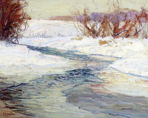 Art Prints of Winter by Edward Redfield