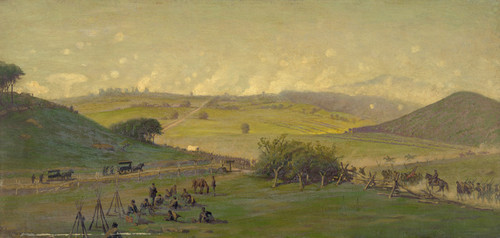 Art Prints of General View of the Union Lines (19524L) by Edwin Forbes