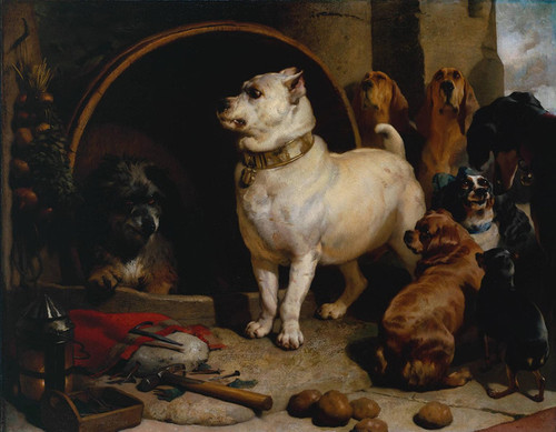 Art Prints of Alexander and Diogenes by Edwin Henry Landseer